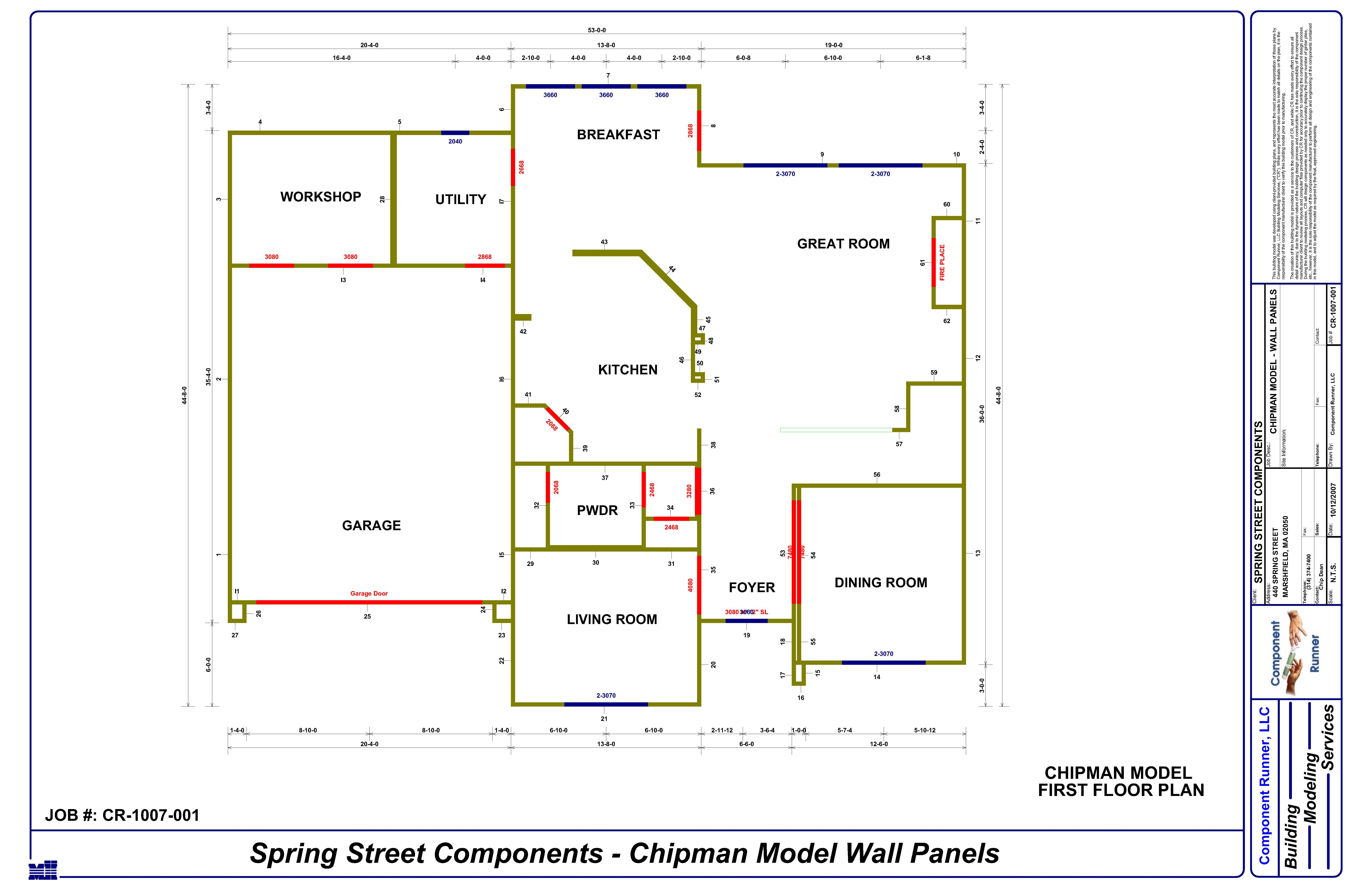 Wall Framing and Panelization